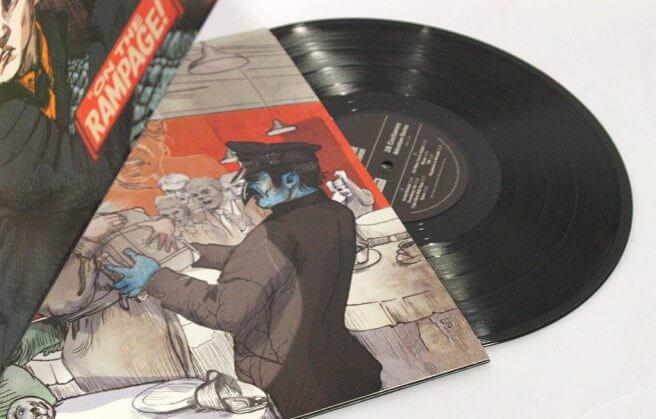 """12"""" Black Record in Gatefold"""